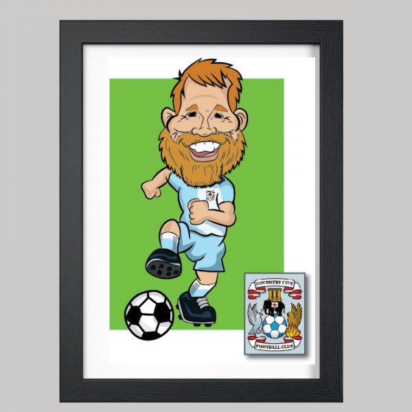 football player 1 digital coventry city kit