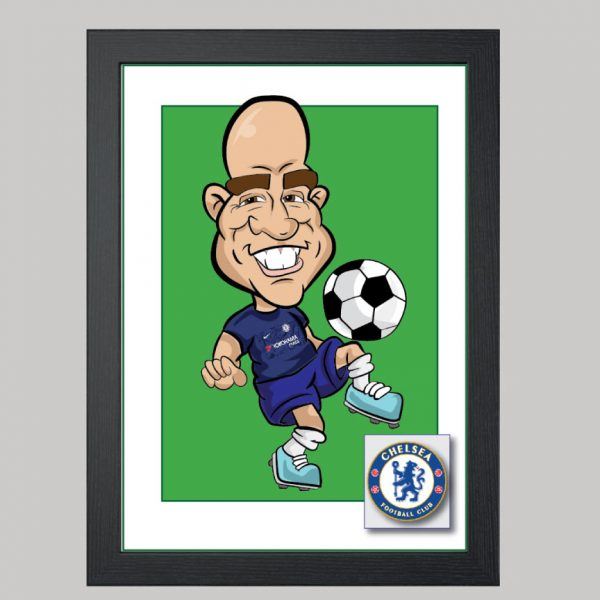 football player 2 digital chelsea kit